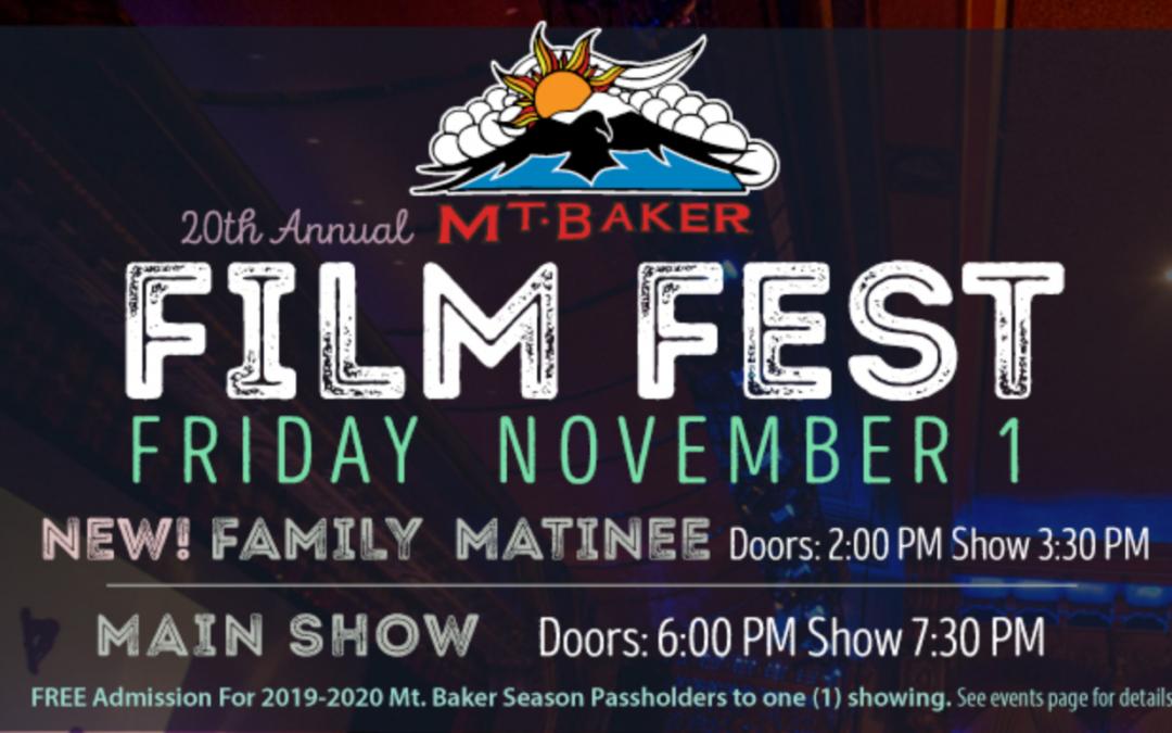 Mt Baker Film Fest